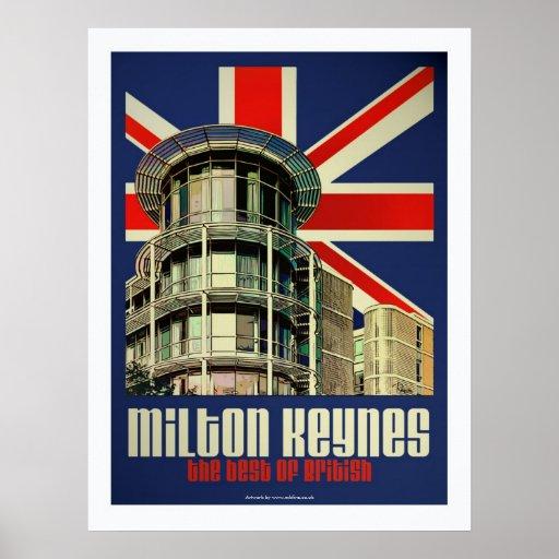 Art Deco Best of British poster