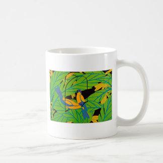 Art Deco Birds on a Swing Mug