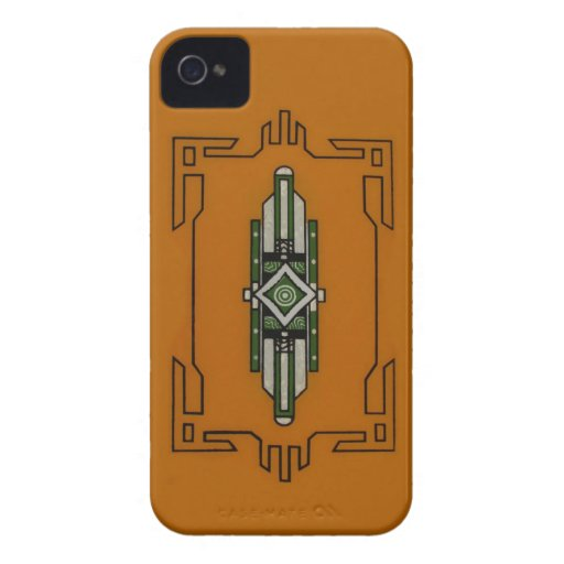 Art Deco ~ BlackBerry Bold CaseMate Barely There Case-Mate iPhone 4 Case