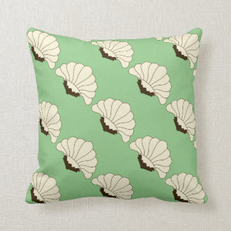 Art Deco Blooms Pattern Cushion