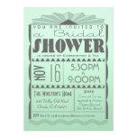 Art Deco Bridal Shower Invitation - Gatsby Style