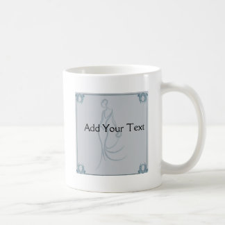 Art Deco Bride Coffee Mug