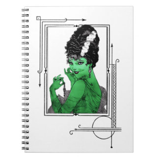 Art Deco Bride Notebook