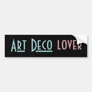 ART DECO bumper sticker