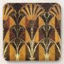 Art Deco Burl Wood Coaster
