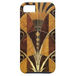 Art Deco Burl Wood iPhone 5 Case