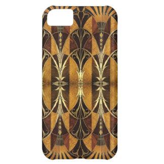 Art Deco Burl Wood iPhone 5C Case