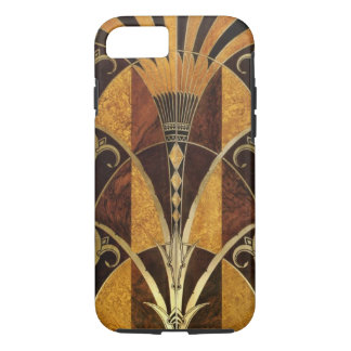 Art Deco Burl Wood iPhone 7 Case