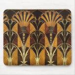 Art Deco Burl Wood Mousepad