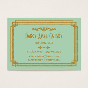 Art deco business cards business card printing zazzle uk art deco business cards colourmoves