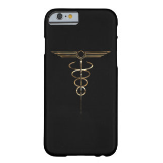 Art Deco Caduceus Barely There iPhone 6 Case