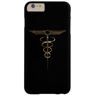 Art Deco Caduceus Barely There iPhone 6 Plus Case