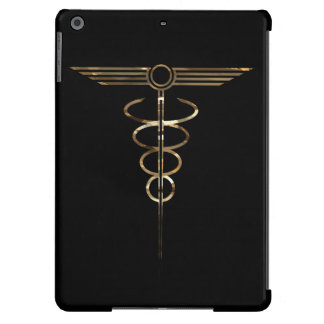 Art Deco Caduceus Cover For iPad Air