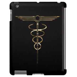 Art Deco Caduceus iPad Case