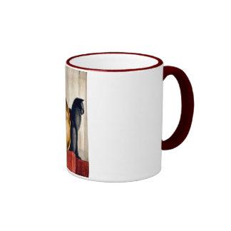 Art Deco Cats Coffee Mugs