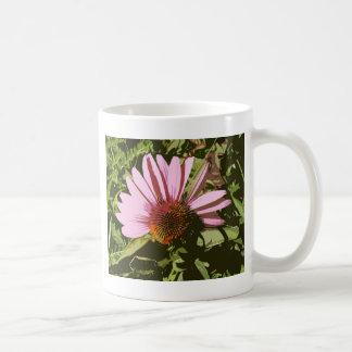art deco coneflower mug