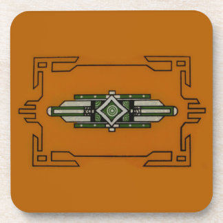 Art Deco ~ Cork Coaster