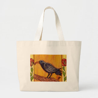 Art Deco Crow and Roses Bag