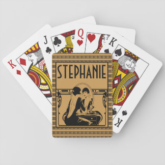 Art Deco, Customized Playing Cards