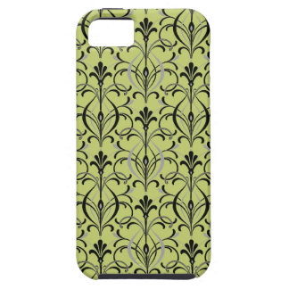 Art Deco Damask iPhone 5 Case