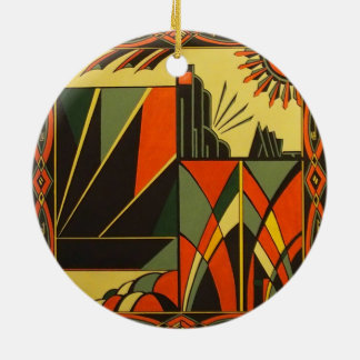 Art Deco decorative hanging ornament
