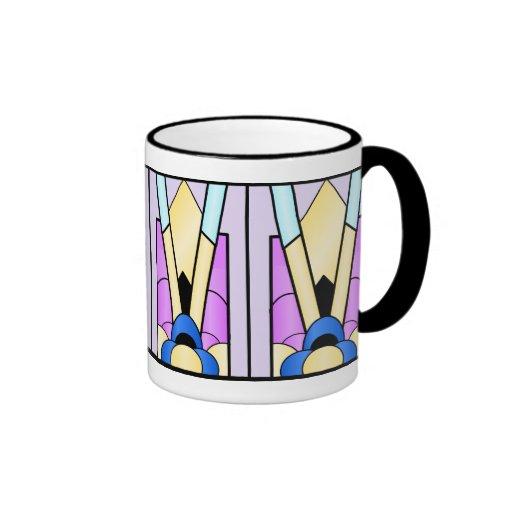 Art Deco Design Coffee Mugs