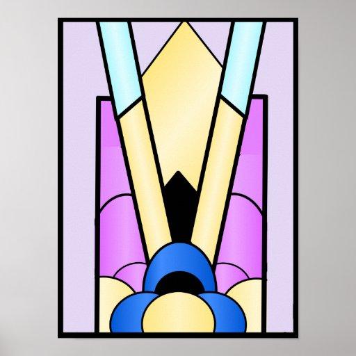 Art Deco Design Poster