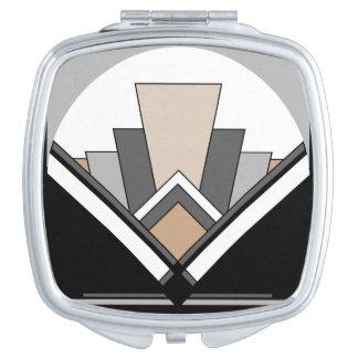 Art Deco Expression Makeup Mirror