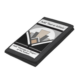 Art Deco Expression Trifold Wallet