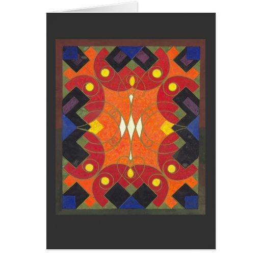Art deco fabric design rich vibrant colours zazzle for Fabric with art deco design