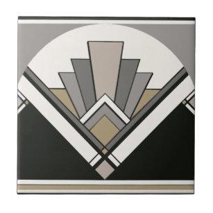 Art Deco Decorative Ceramic Tiles | Zazzle.co.uk