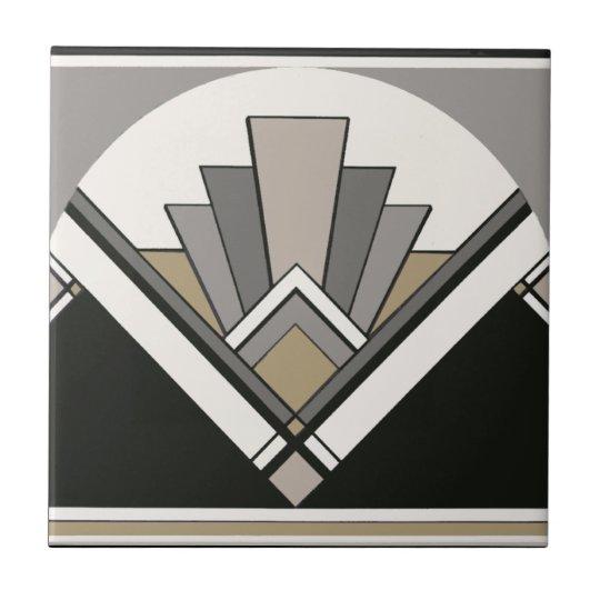 Art Deco Fan Bathroom Or Kitchen Tile