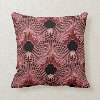 Art Deco Fan Design Pillow