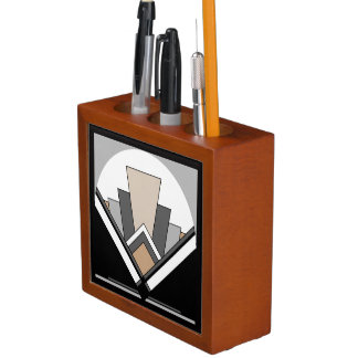 Art Deco Fan Expression Desk Organiser