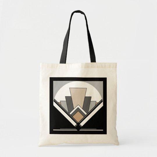 Art Deco Fan Expression Tote Bag