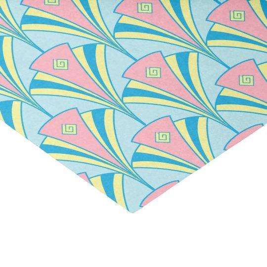 Art Deco Fan Miami Gifts Tissue Paper