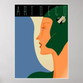 Art Deco Fashion 01 Poster