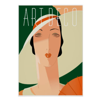 Browse our Collection of Art Deco Posters and personalise by colour, design or style.