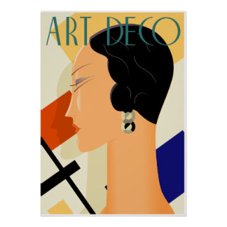 Art Deco Fashion 03 Poster