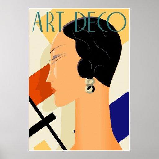 Art Deco Fashion 03 Poster