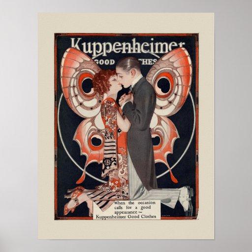 Art Deco Fashion Poster
