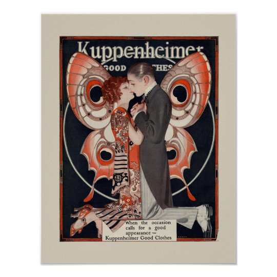 Art Deco Fashion Poster