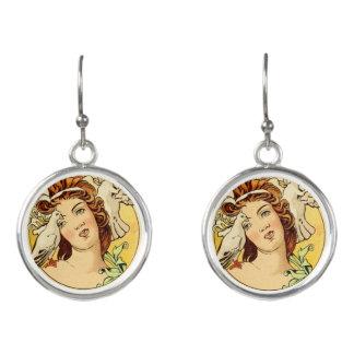 Art Deco Female Drop Earings 1 Earrings