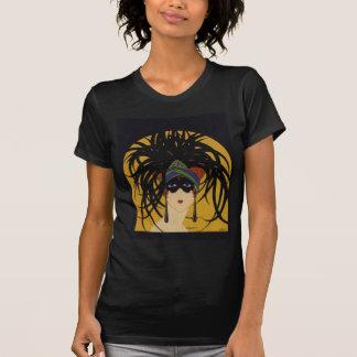 Art Deco Festive Lady T-shirts