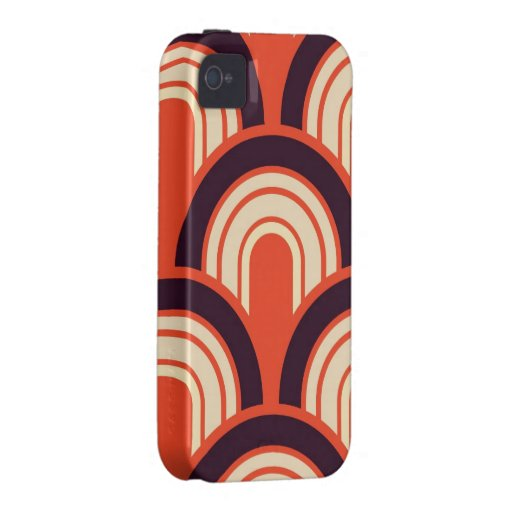 Art Deco Fifties Retro Abstract Art iPhone 4 Case