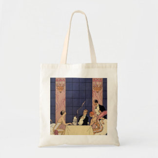 Art Deco Fine Dining Tote Bag