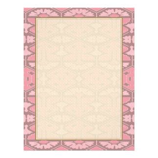 Art Deco Flair - All in Pink 21.5 Cm X 28 Cm Flyer
