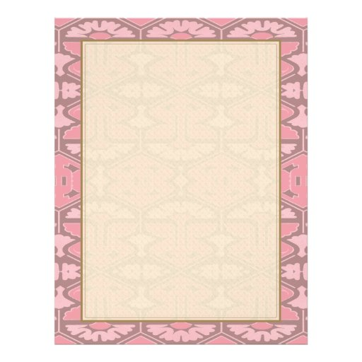 Art Deco Flair - All in Pink Custom Flyer
