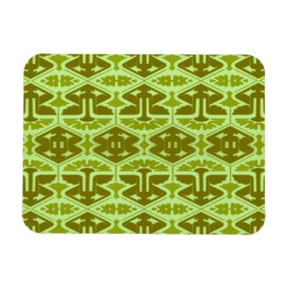Art Deco Flair - In Green Magnets