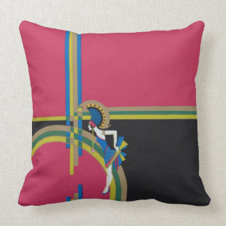 Art Deco Flapper Cushion